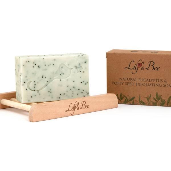 Natural Eucalyptus & Poppy Seed Exfoliating Soap