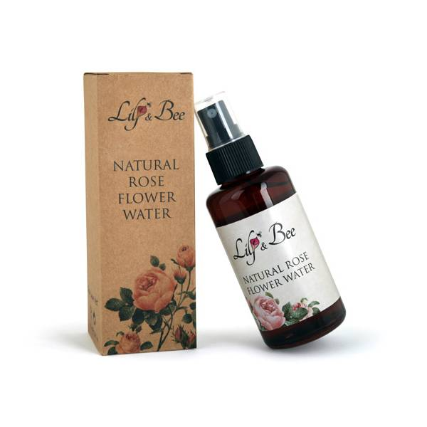 Natural Rose Flower Water
